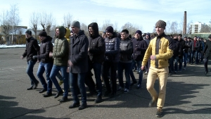 Students of KFU prepare for Russian Victory Day