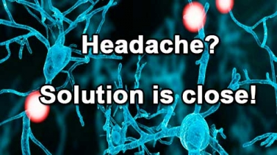 Headache? Solution is close!