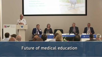 Times Higher Education Research Excellence Summit: Eurasia. Future of medical education /29.08.2018/
